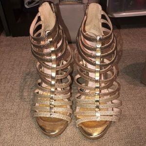 worn once ALDO heels